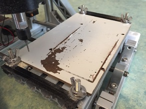 CNC Spoilboard Clips for use with HDF Sheets
