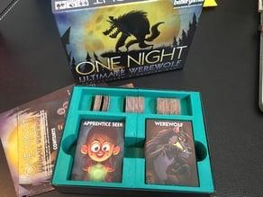 One Night Ultimate Werewolf Box Insert (2 Pieces)