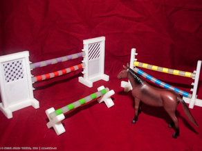 Toy Horse Jumps