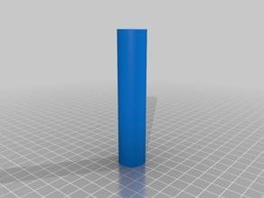 Filament roller for aluminum system profile