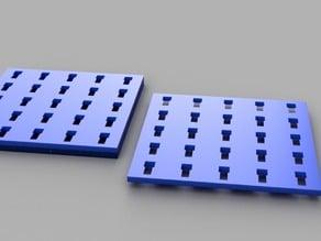 fischertechnik base plate  configurable Grundplatte