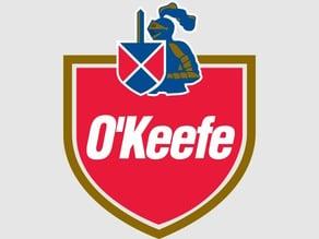 O'keefe beer plate