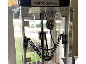 Enclosure for the Rostock Max V2 3D-Printer