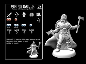 Viking Raider (18mm scale)
