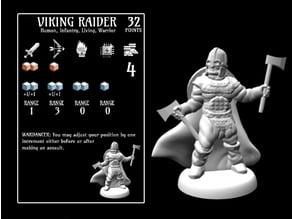Viking Raider (18mm scale)