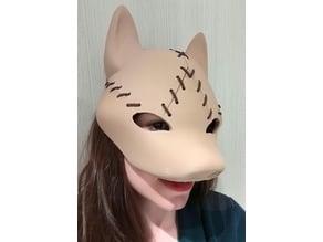 Fox Mask - 3 Piece Set