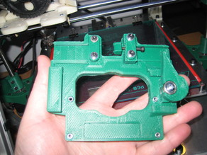 Reinforced and altered Quick fit X Carriage for Igus pillow block bearings