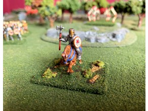 15mm HotT Knights of Serbia Army - Mounted Knight Hero