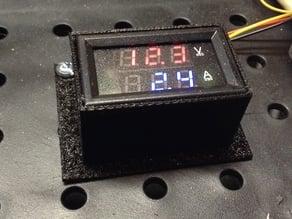 Voltmeter mount