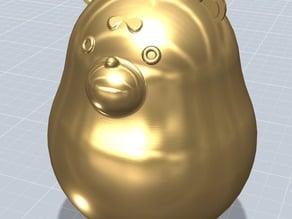 Bear Never Quit 3D Model 1.0