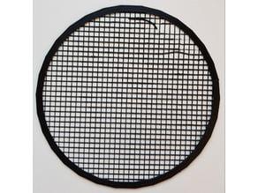 Parametric round mesh filter