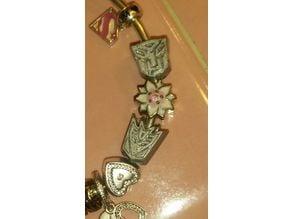 Decepticon Bracelet Bead