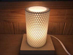 Small HoneyComb Lamp Shade Remix