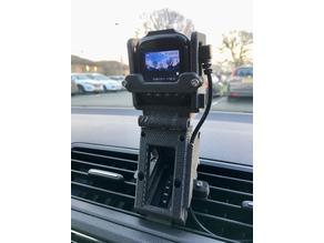 Skoda Fabia Dashcam holder