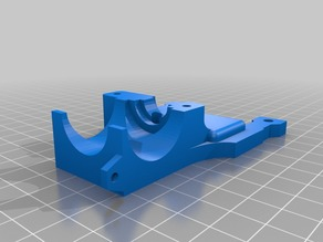MakerFarm Pegasus Single Bowden Mount with IR Sensor