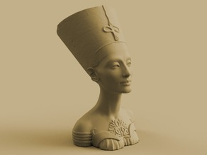 Queen of Egypt Bust Flower Pot