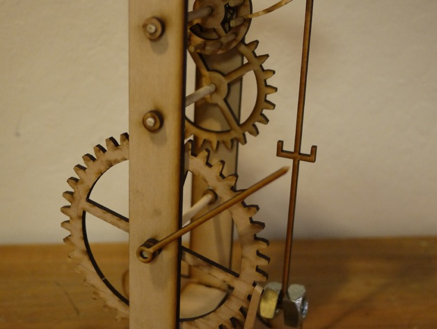Galileo's Pendulum Clock by ZombieCat - Thingiverse