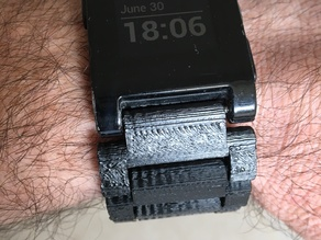 Pebble Watch Strap - Interconnected Links