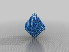 Rhombic Dodecahedron Lattice