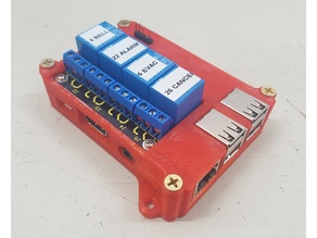 Raspberry Pi Relay Case for Keyestudio Board