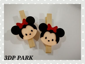 Mini Mouse Clothespins