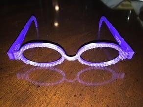 OpenSCAD Glasses