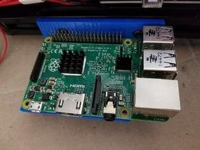 Raspberry Pi 2/3 2020 skeletonized mount