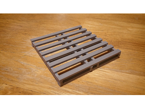 Scale Wooden Pallet