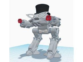 Tuxedo ED-209 Mask