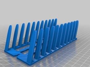 Horizontal 10x / 5x / 3x Smartphone-Rack