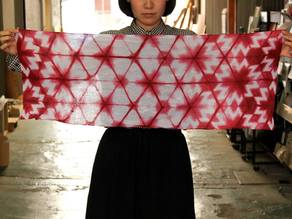 Cut lines for Shibori, Tie Dye created at Arimatsu Shibori x Digital Fabrication Workshop in Osaka