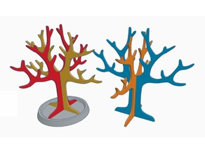 Jewelry tree x2 Capacity symmetric
