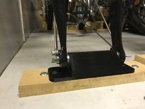 Bicycle fork holder