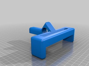 """CR-10/10S Controller feet and 7"""" Tablet Bracket."""
