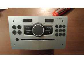 OPEL CD30MP3 CD30 MP3 - Buttons