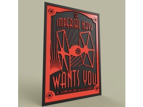 StarWars Imperial Navy WANTS YOU
