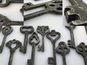 Old-Timey Keys