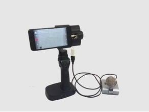 DJI Osmo Mobile iPhone 7 plus External Microphone Adapter