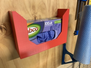 Disposable glove holder