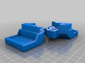 Z & X Mount to suit Left & Right MGN12C Rail blocks