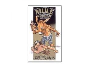 Derek Hess - Mule Figure