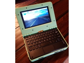 Raspberry Pi 7 inch Laptop