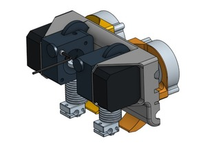 Dual Extruder Prusa i3 Titan Mount