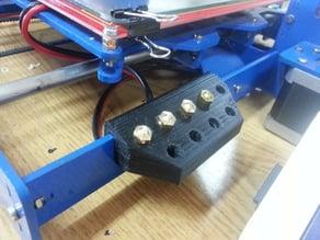 Prusa I3 Steel - Nozzle holder / Portaboquillas