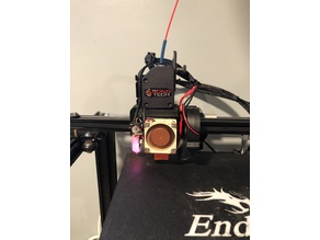 Creality Ender 5 e3D V6 Bondtech Direct Drive Modular Mount (should work on Ender 3 and CR10)