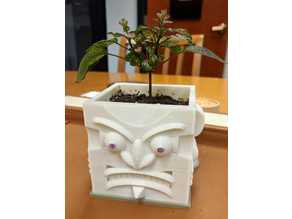 Evil Face Planter Base