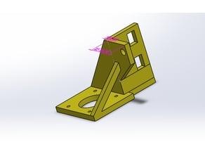 Hypercube Xy Motor Mount For 4040 Profile