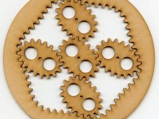 elliptical planetary gears