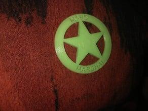 Marshal on Mars, Marshal badge