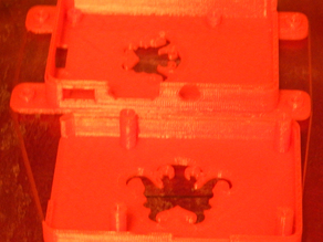 Derivitive of RichRap's RasPi Model B design using the same OctoPrint and MM2 bracket from my Model B+ Case.
